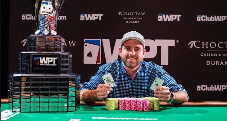 Brady Holiman conquista o título do WPT Choctaw/CardPlayer.com.br