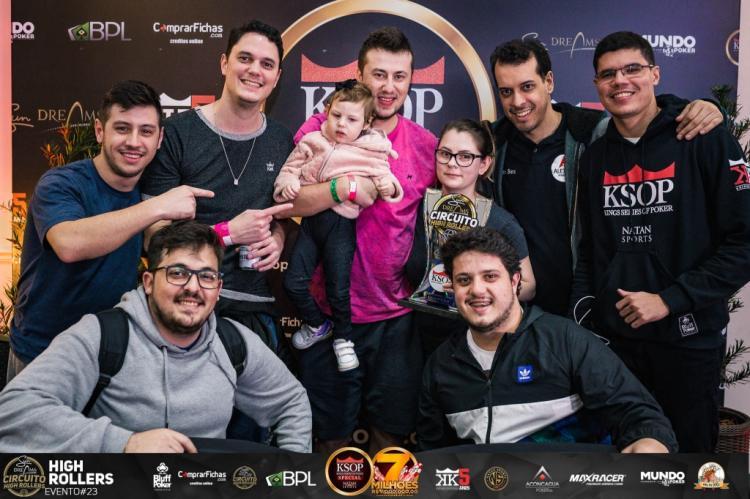 Gabriel Schroeder é campeão do High Roller do KSOP Special/CardPlayer.com.br