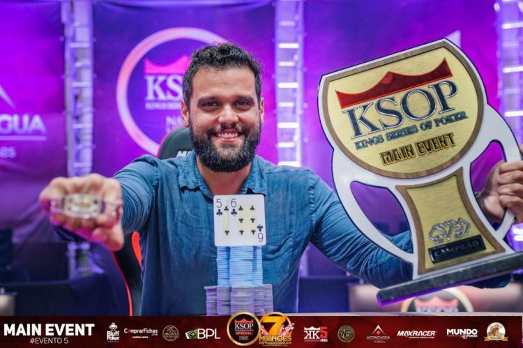 Tales Alcântara crava KSOP Special e fatura R$ 715 mil/CardPlayer.com.br
