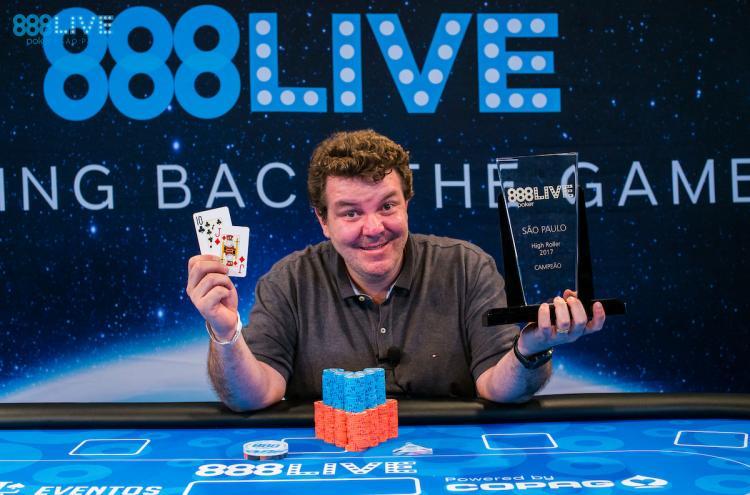 Frederic Bittar vence o High Roller do 888Live/CardPlayer.com.br