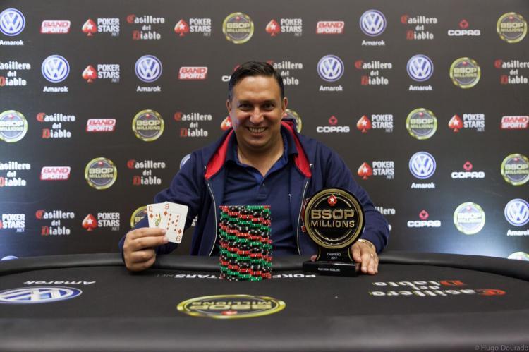 Hermógenes Gelonezi vence último High Roller do BSOP Millions/CardPlayer.com.br