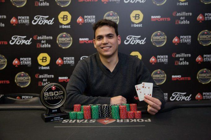 João Paulo Gomides crava último high roller do BSOP Millions/CardPlayer.com.br