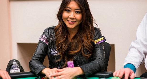 Maria Ho ajuda fã em programa de televisão nos EUA/CardPlayer.com.br