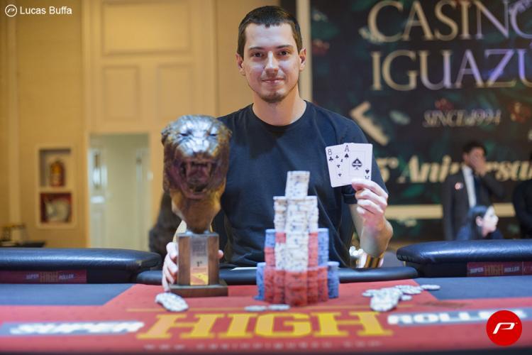 Pedro Grochocki crava Super High Roller do Iguazú e fatura US$ 200 mil/CardPlayer.com.br