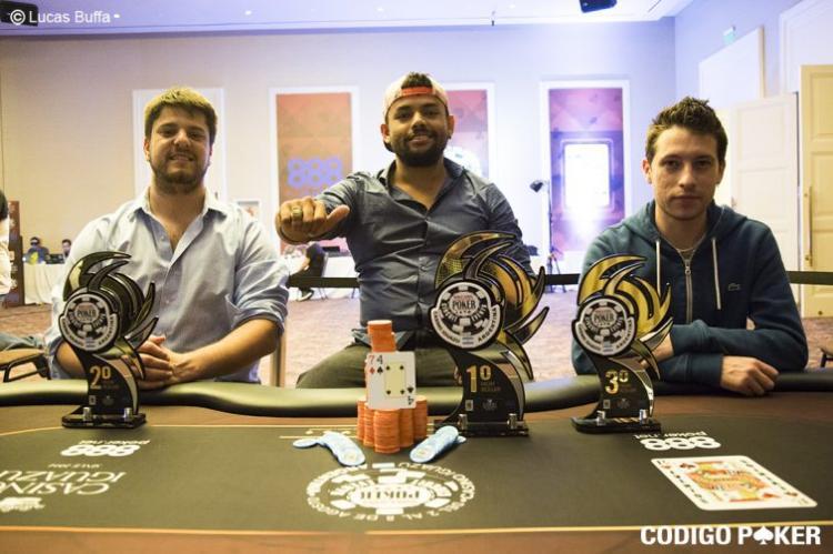 Wender Oliveira vence High Roller do WSOP Circuit Argentina/CardPlayer.com.br