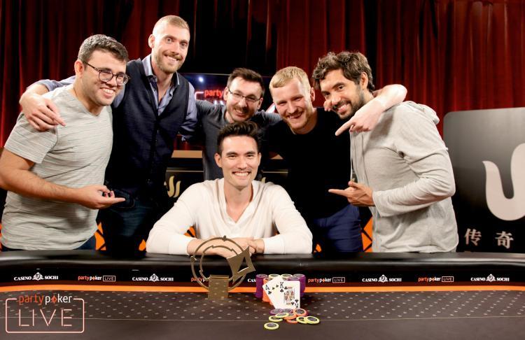 Aymon Hata vence Triton Poker High Roller Sochi/CardPlayer.com.br