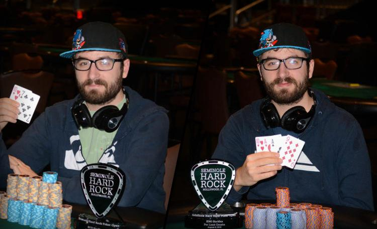 Mark Dube vence duas vezes seguidas no Seminole Hard Rock Poker Open/CardPlayer.com.br