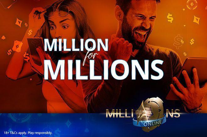 Promoção do partypoker vai distribuir US$ 1 milhão em tíquetes para os satélites do MILLIONS Online/CardPlayer.com.br