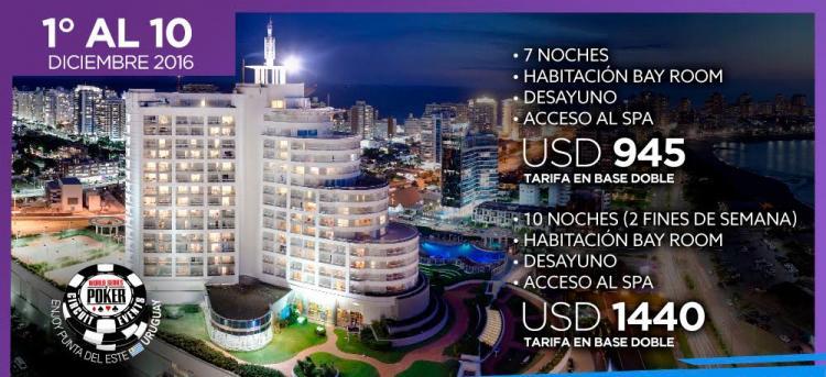 Confira o cronograma do WSOP Circuit Punta del Este/CardPlayer.com.br