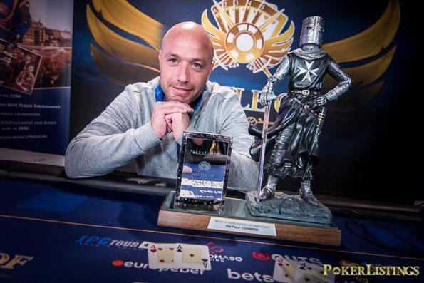 Nadav Patrick Lipszyc crava Main Event da Battle of Malta/CardPlayer.com.br