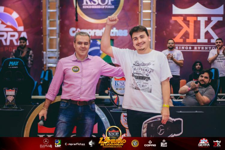 """""""A concorrência no poker nacional só ajuda os jogadores"""", afirma Moisés Luís Branco de Moraes/CardPlayer.com.br"""