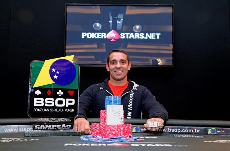 Fábio Sousa elimina todos os jogadores da mesa final e é campeão do BSOP Recife/CardPlayer.com.br