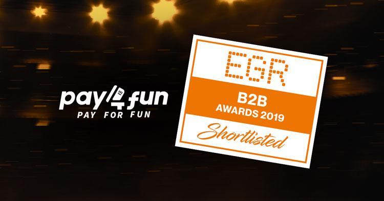 Pay4Fun está na final do EGR B2B Awards em três categorias/CardPlayer.com.br