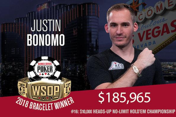 Justin Bonomo confirma fase espetacular e crava Evento 16 da WSOP/CardPlayer.com.br