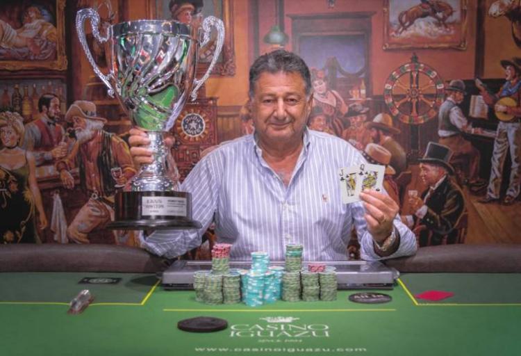 Brasuca Ali Cader vence etapa da Iguazú Master Series e fatura R$ 115 mil/CardPlayer.com.br