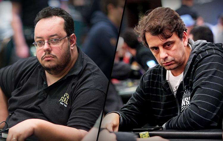 """Geraldo """"BateBicoPLZ"""" César e Fábio """"Fabio_Freitas22"""" Freitas fazem dobradinha no $530 Sunday Bounty Hunter/CardPlayer.com.br"""