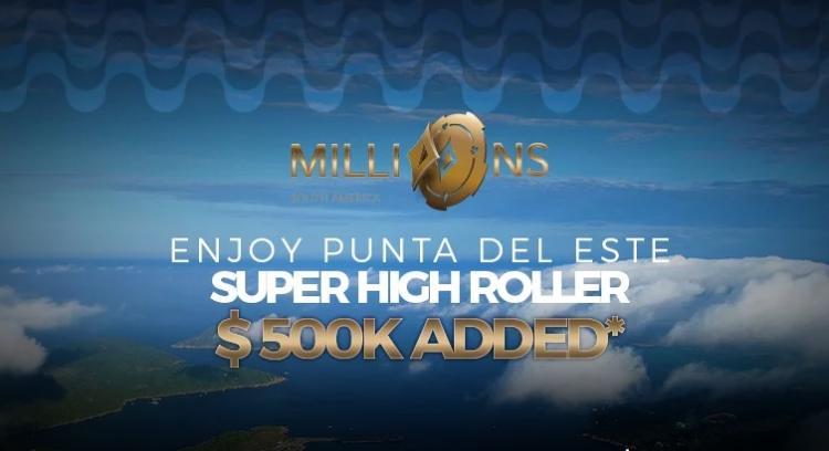 Novo Super High Roller do MILLIONS Rio de Janeiro vai ter US$ 500 mil adicionados à premiação/CardPlayer.com.br