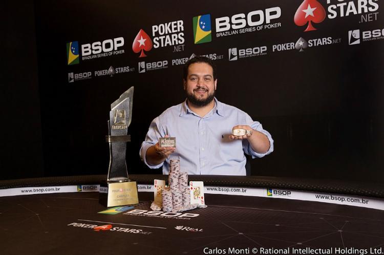 Marcelo Horta é campeão do BSOP Brasília/CardPlayer.com.br