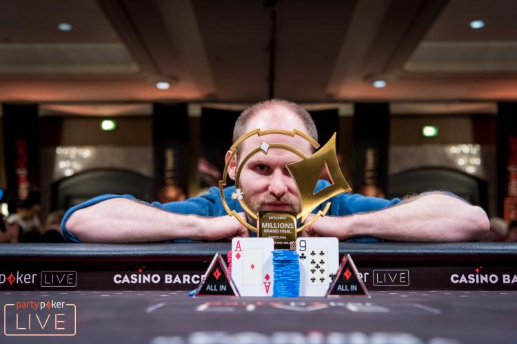 Sam Greenwood crava Super High Roller do partypoker LIVE MILLIONS Grand Final Barcelona/CardPlayer.com.br