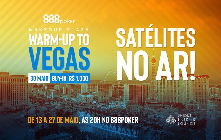 888poker realiza satélites para o evento Warm-up to Vegas/CardPlayer.com.br