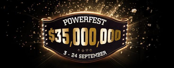 Powerfest do partypoker vai ter dez torneios com premiações milionárias/CardPlayer.com.br
