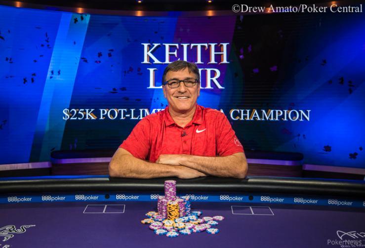 Keith Lehr vence torneio de PL Omaha do Poker Masters 2018/CardPlayer.com.br