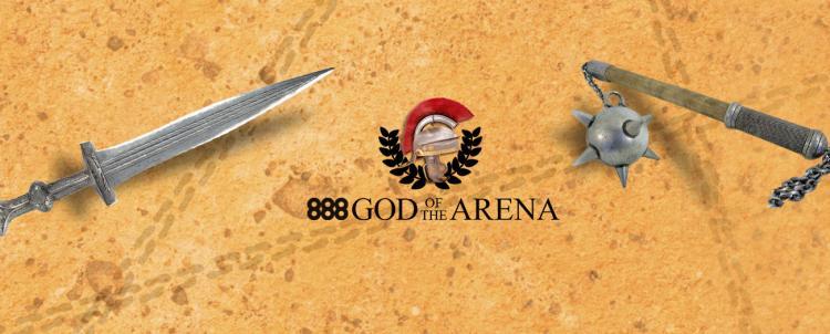 Brasileiros ganham freerolls exclusivos para o Main Event da série God of the Arena do 888poker/CardPlayer.com.br