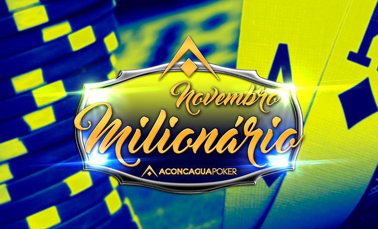 Vai começar o Novembro Milionário com 1 milhão de pesos garantidos/CardPlayer.com.br