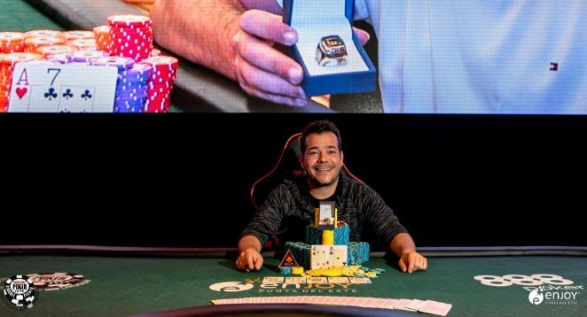 Em pódio verde e amarelo, Guilherme Moura fatura o título do Torneio Milionário do Conrad/CardPlayer.com.br