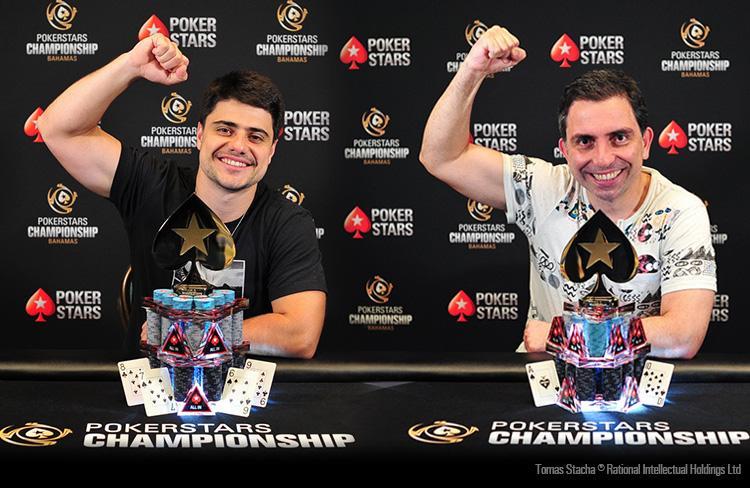 Ramon Sorgatto e Walter Oaquim vencem no PokerStars Championship Bahamas/CardPlayer.com.br