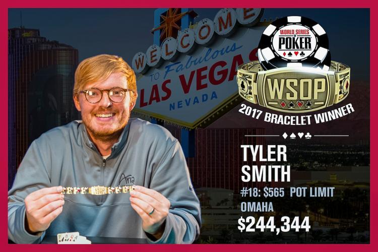 Tyler Smith vence maior torneio de PLO da história da WSOP/CardPlayer.com.br