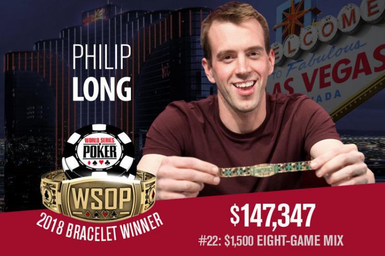 Philip Long é campeão do Evento 22 da WSOP/CardPlayer.com.br