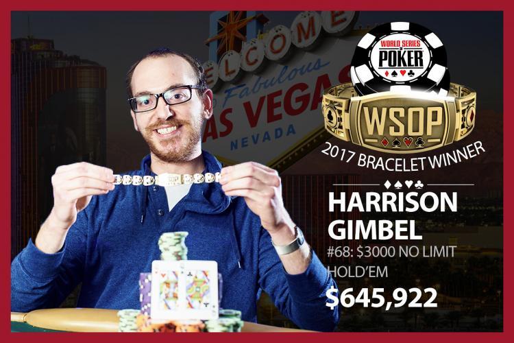 Harrison Gimbel completa a tríplice coroa ao vencer na WSOP/CardPlayer.com.br