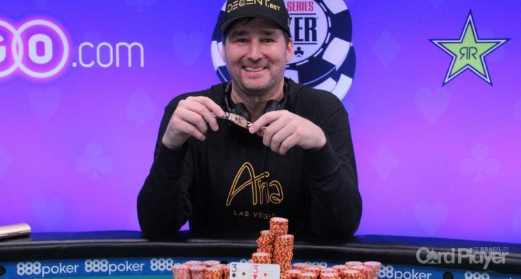 Phil Hellmuth conquista 15° bracelete da WSOP/CardPlayer.com.br