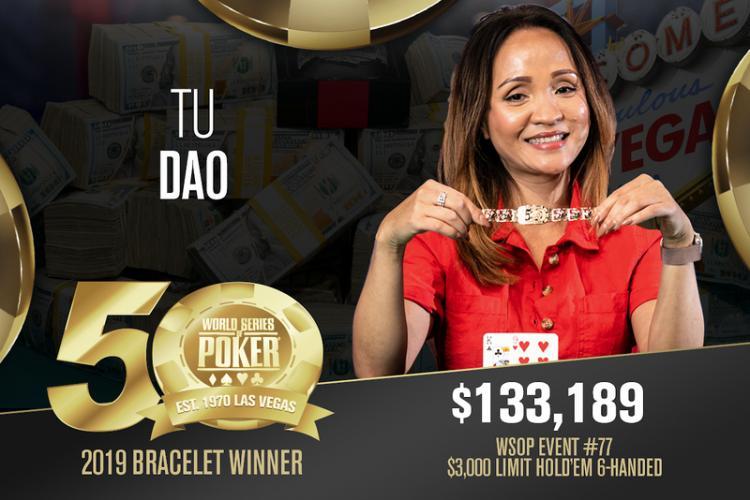 Tu Dao leva a melhor no Evento 77 da WSOP/CardPlayer.com.br