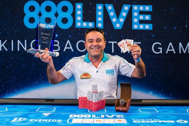 Haroldo Ferreira leva a melhor no Main Event do 888Live São Paulo/CardPlayer.com.br