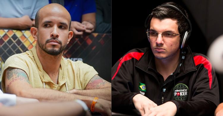 """Alexandre """"Cavalito"""" e Douglas """"Dowgh-Santos"""" estão na mesa final do WSOPC do Uruguai/CardPlayer.com.br"""