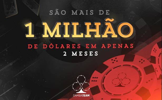 Samba Team atinge lucro de US$ 1 milhão na temporada/CardPlayer.com.br