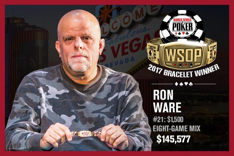 """Ron """"Grumpy"""" Ware vence o Evento 21 da WSOP/CardPlayer.com.br"""