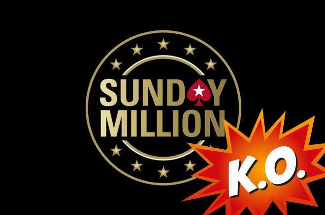 Sunday Million volta a adotar o formato KO Progressivo/CardPlayer.com.br
