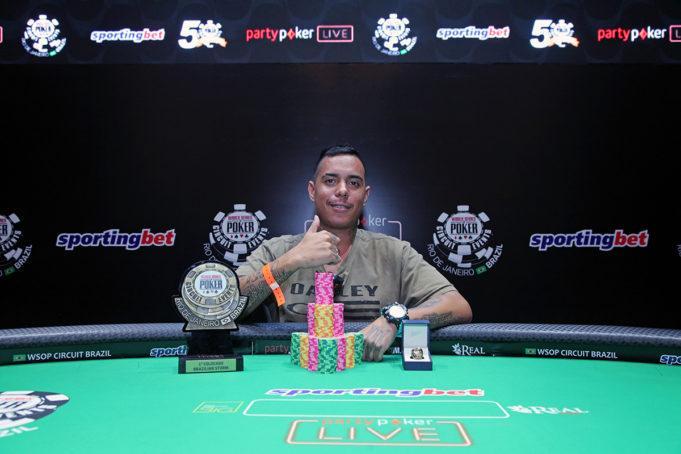 Rafael Cunha é campeão do Brazilian Storm do WSOP Circuit/CardPlayer.com.br