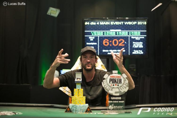 Brasileiros vão bem, mas quem vence ME do WSOPC é argentino Gabriel Muzzio/CardPlayer.com.br
