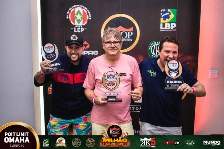 Dárcio Ceolin é campeão do PL Omaha do KSOP Natal/CardPlayer.com.br