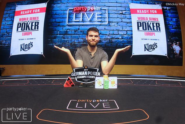 Jack Sinclair vence o Super High Roller do German Poker Championship/CardPlayer.com.br