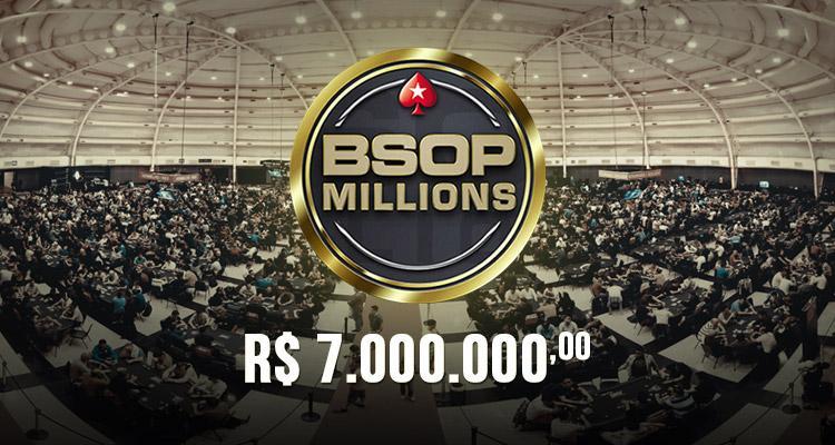 Confira o cronograma do BSOP Millions/CardPlayer.com.br