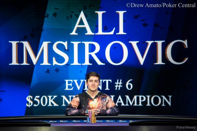Ali Imsirovic conquista bicampeonato no Poker Masters 2018/CardPlayer.com.br