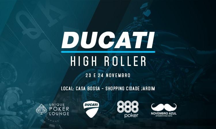 888poker e Ducati promovem High Roller em São Paulo /CardPlayer.com.br