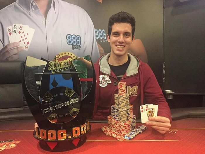 Luiz Felipe Rossini conquista o título do SP Million Challenge/CardPlayer.com.br