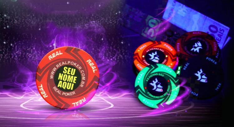 Real Poker lança fichas anti-falsificação/CardPlayer.com.br