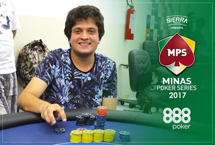 Eduardo Silva larga na frente na segunda etapa da MPS/CardPlayer.com.br